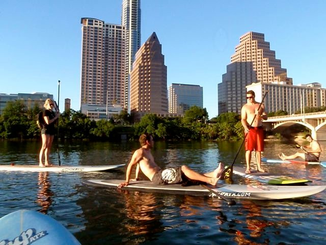 Image result for sup austin town lake